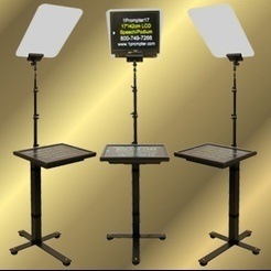 s b speech prompter view specifications details of teleprompter