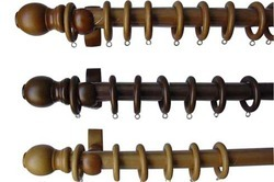 Wooden Curtain Rods And Drapery Hardware