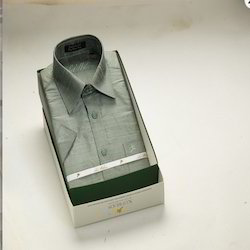 Light Green Silk Shirt