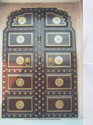 Traditional Design Wooden Door
