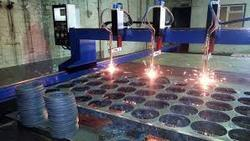 MS, SS, Aluminium Sheet Metal Cutting.