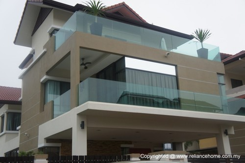Balcony Glass Railing Models At Rs 500 Square Feet S