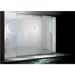 Designer Glass Partition