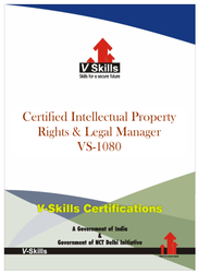 Certified Intellectual Property Rights And Legal Manager