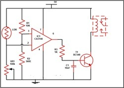 Automatic Street Light Controller Circuit Using Relays and L ...