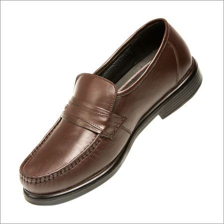 Cut Shoes Brown Moccassins