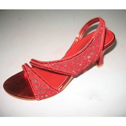 Red Designer Sandals