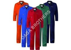 WORKWEAR Cotton/Linen Boiler Suits Fabric, Packaging Type: Roll Pack, 200-250
