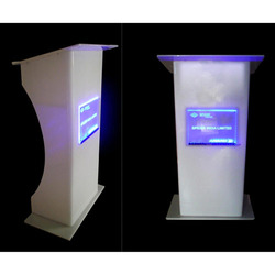 White Acrylic Lectern Podium, Warranty: More Than 5 Year, for Office