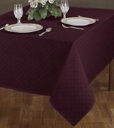 Purple Solid Dyeing Table Covers, Size: 140 X 180 Cm