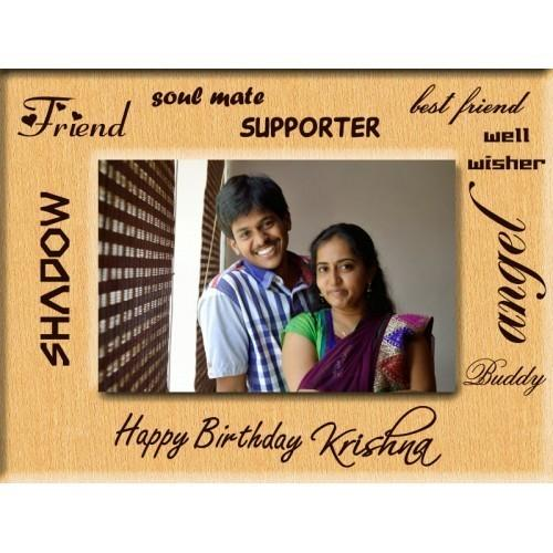 Friend S Birthday Gift Photo Frame Incredible Gifts New Delhi