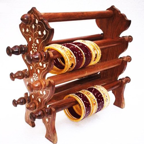Bangle Stand Designs : Wooden bangle stand manufacturer from saharanpur