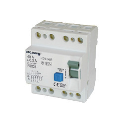 Residual Current Circuit Breakers Four Pole