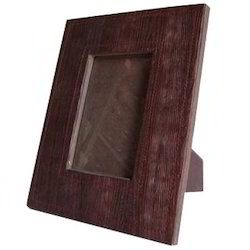 Brown Handmade Leather Photo Frames, For Decoration, Size: 8 X 5 Inch