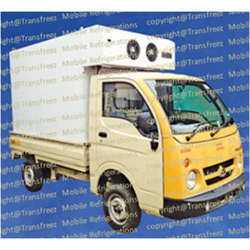 Cold Plate Refrigerated Truck