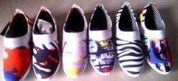 Custom Print Canvas Shoes