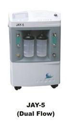 Jay5 w Oxygen Concentrator Dual Flow