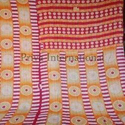 Cotton Designer Kantha Throw