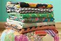 Vitntage Kantha Quilt Handmade Kantha Bedspread