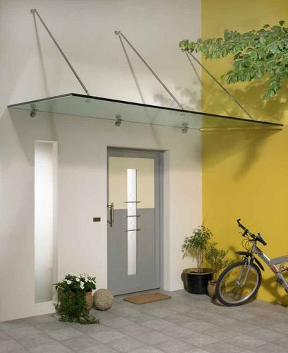 Clear Glass Canopy & Clear Glass Canopy Global Glass Technologies | ID: 7700711048