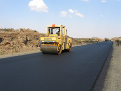 Asphalt Road Construction