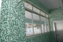 Glass Mosaic Tiles for Interiors, Thickness: 6 - 8 mm, Size: Small