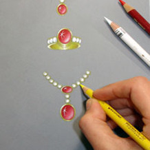 Freehand Jewelry Design