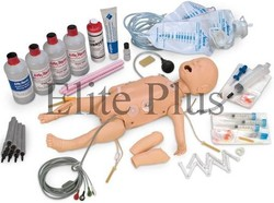 Deluxe Infant Crisis Manikin with ECG Simulator