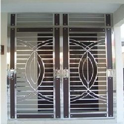 Steel Window Grills Lohe Ki Khidki Grill सटल खडक