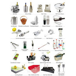 Bar Utensils Restaurant Bar Supplies Manufacturer From Delhi