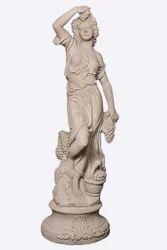 Sand Stone Lady Statue