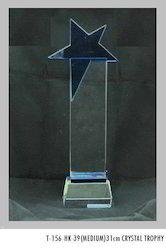 31 cm Crystal Trophies