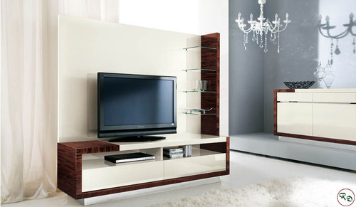 LCD Wall Units And Cabinets Wooden LCD Wall Cabinet Manufacturer