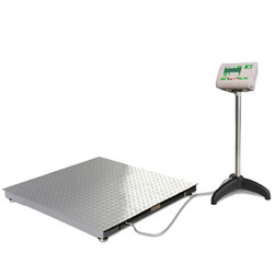 4 Load Cell Chequer Platform Scale