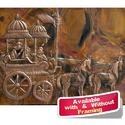 Large Wall Decor Mural - Arjun Rath on Copper Sheet