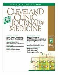 Cleveland Clinic Journal Of Medicine Scientific Press