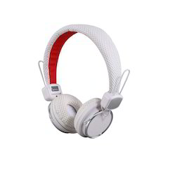 Classy Wired Studio Headphone with Premium Quality Sound for Mobiles & Laptop - White