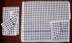 Cotton Check Terry Kitchen Towels, For Cleaning, Wash Type: Hand Wash