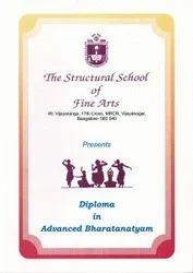 Diploma in Bharatnatyam