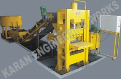 4 Bricks Fly Ash Brick Making Machine -Automatic