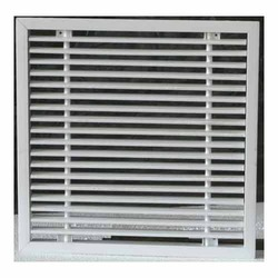 Aluminum and PVC Air Grilles