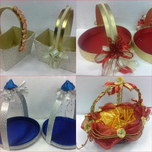 Wedding Gift Decoration Ideas: Wedding Basket Decorating Ideas At Rs 350 /piece(s