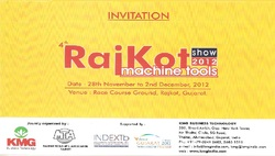 Invitation For Rajkot Machine Tools Show