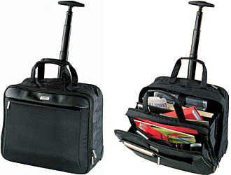 9d6af53b4 Black Leather Business Trolley Bag, Rs 1850 /piece, Studio Kreative ...
