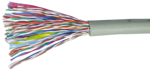 Grey 50 Pair Telephone Cable, Rs 145 /meter, Kubhera Cable Private ...