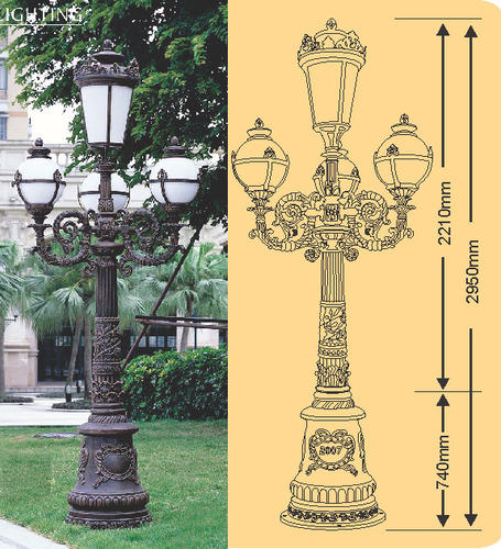 Decorative Urban Lighting
