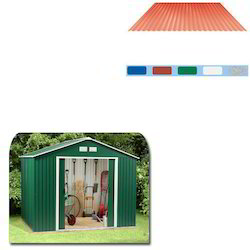 Coated Steel Sheet for Storage Sheds