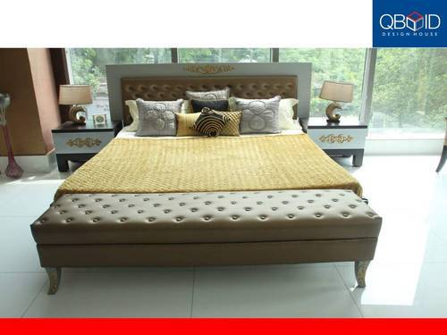 Designer Double Bed Designing Services