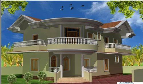 Kothi design home design for Beautiful kothi designs