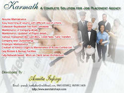 Karmath (A Software for Placement Agency)